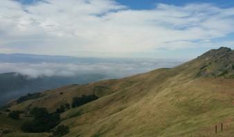 View toward Salinas from Fremont Peak Trail.