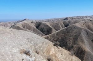 Long views of steep ravines,REACH San Benito Parks to visit Panoche Hills