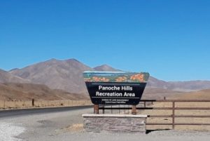 Panoche Hills sign on Little Panoche Road-REACH San Benito Parks to visit - Panoche Hills sign