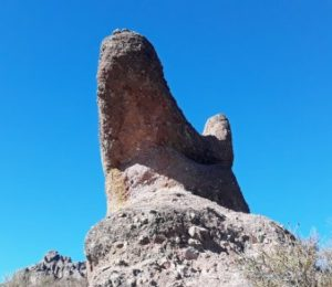 Hiking pinnacles