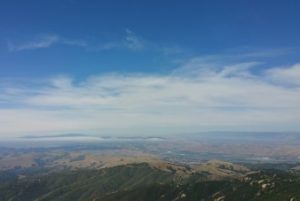 View to the northwest from Fremont Peak.