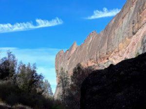 hiking in San Benito county machete ridge