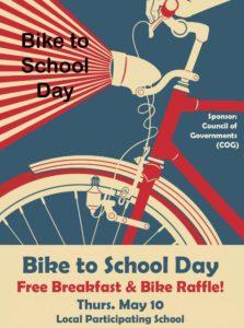 Bike to school day, ride a bike in san benito county
