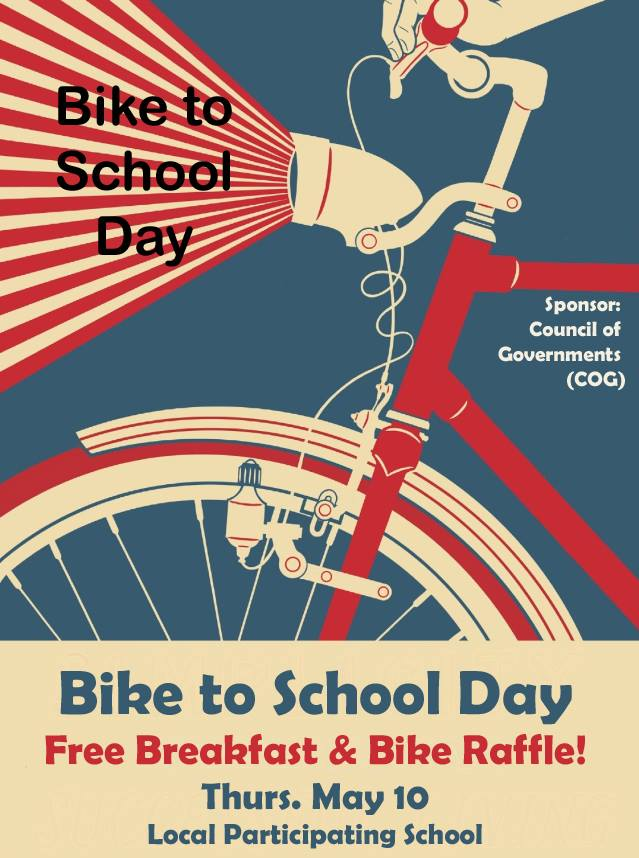 Bike to school day, ride a bike in san benito county