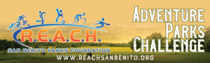 Adventure Parks challenge Reach san benito parks foundation